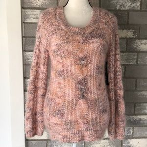 Long sleeve sweater top size L NWT